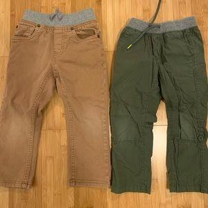 2 pair 3T pants Old Navy/ Cherokee